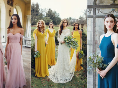 Timeless Elegance Meets Hollywood Glamour! Jenny Yoo 2018 Bridal Party Collection