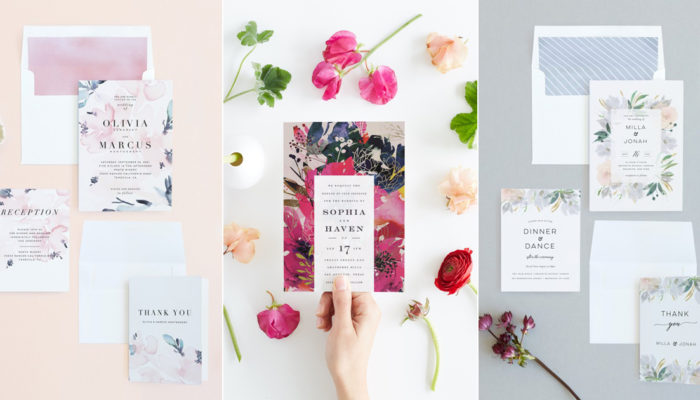 Take Your Wedding Invitations to the Next Level with Minted 2018 Collection!