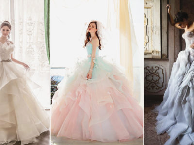 24 Stunning Layered Wedding Dresses With Show-Stopping Tiered Skirts!