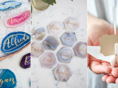 16 Ultra Chic and Unique Place Card Ideas That Are Sure to Impress Your Guests!