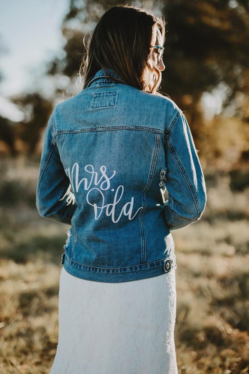 16 Fashion-Forward Custom Wedding Jackets to Keep You Warm