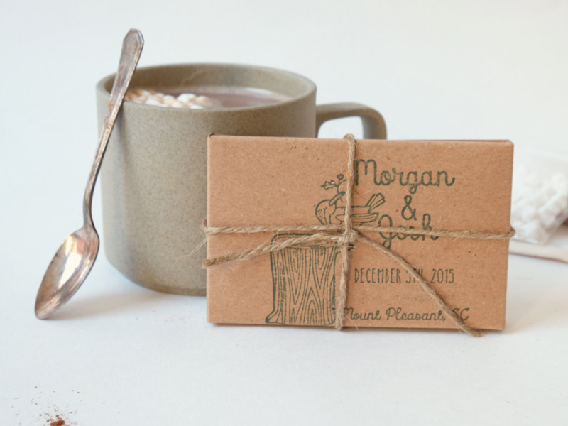 15-Hot Cocoa Favors