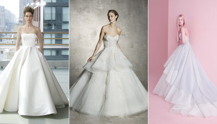 7 Wedding Dress Trends That Should Be on Your Radar for Spring 2019!