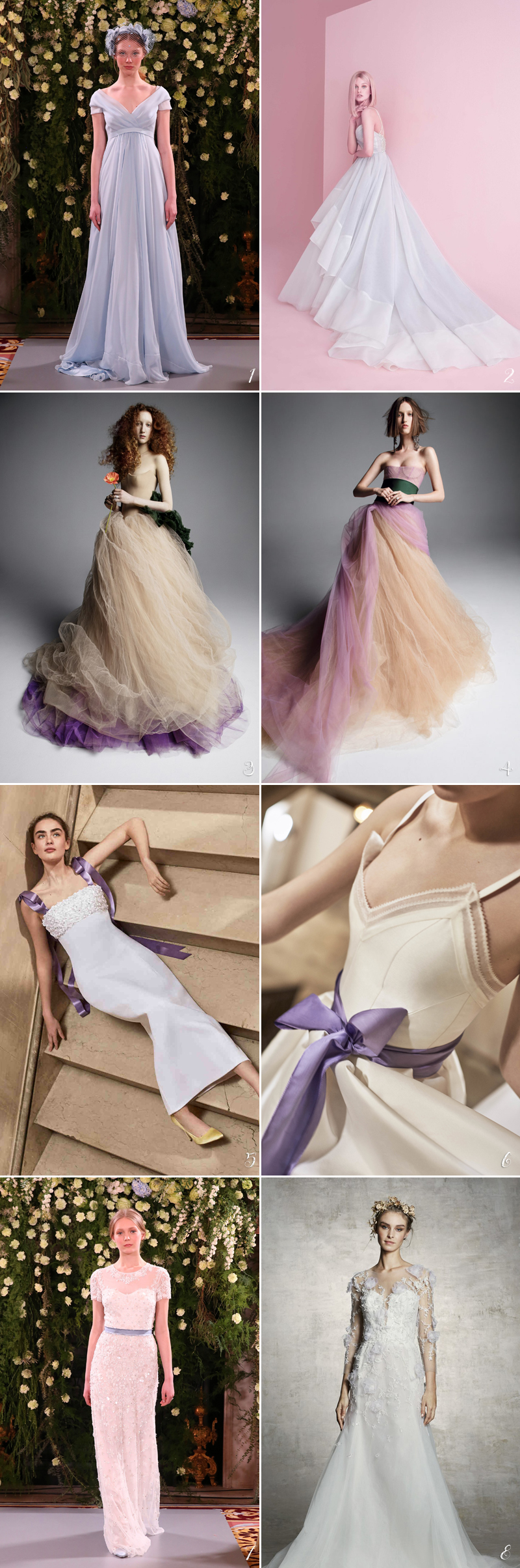 2019weddingdresstrend05-lavender