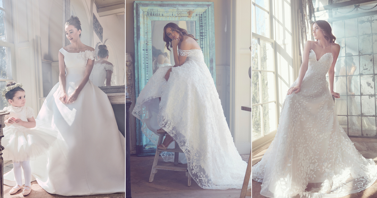 Sareh Nouri 2019 Wedding Dress Collection Swan Lake Praise
