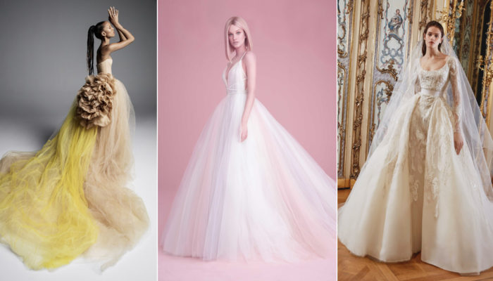 Meet the New 2019 Wedding Dresses You'll Soon Fall In Love With!