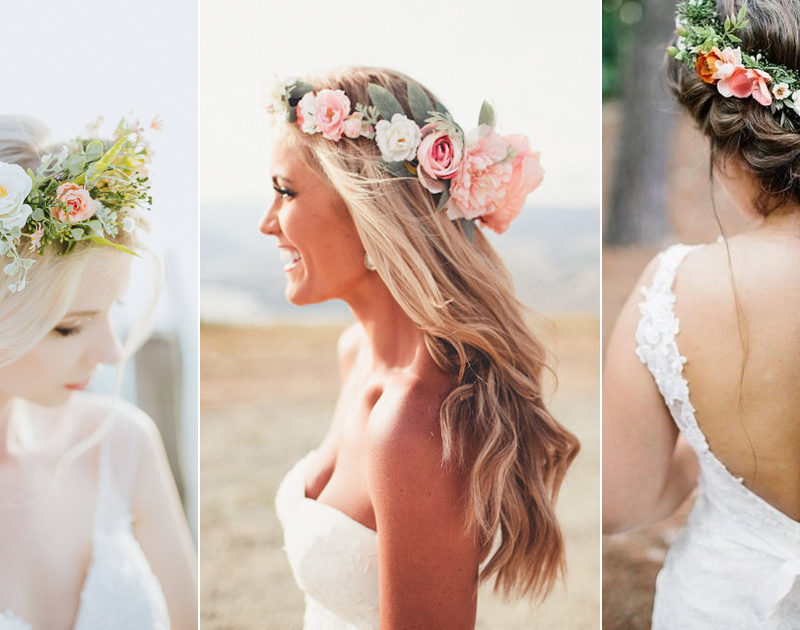 24 Stunning Flower Crowns to Complete Your Wedding Hairstyle