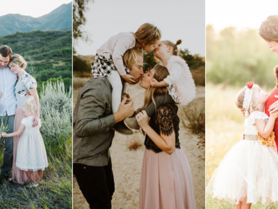 21 Heart-Warming Maternity Photo Ideas with the Family!