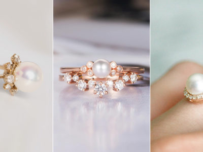 28 Elegant Pearl Engagement Rings For the Timeless Bride!