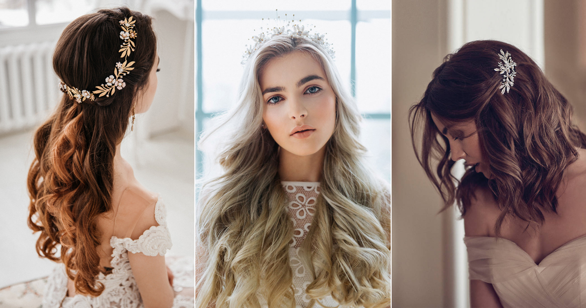 How To Wear Your Hair Down For Your Wedding?
