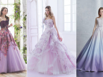 30 Beautiful Purple Wedding Gowns For Modern Romantic Brides