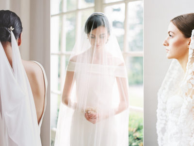 A Romantic Finishing Touch! 15 Simple Yet Unique Wedding Veils For Modern Brides!
