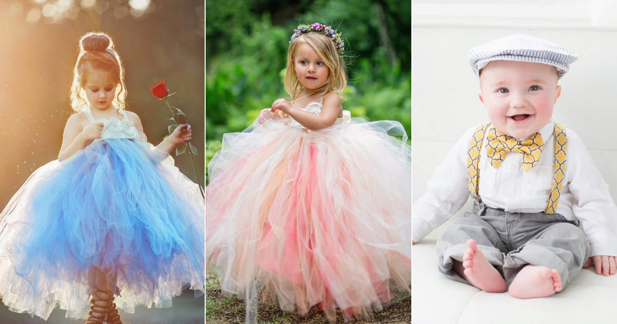 20bcb7dd82e Wedding Fashion for Kids! 24 Super Adorable Flower Girl and Ring Bearer  Outfits! - Praise Wedding