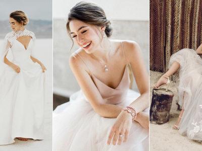 32 Less Formal Minimalist Wedding Dresses For Intimate Weddings!