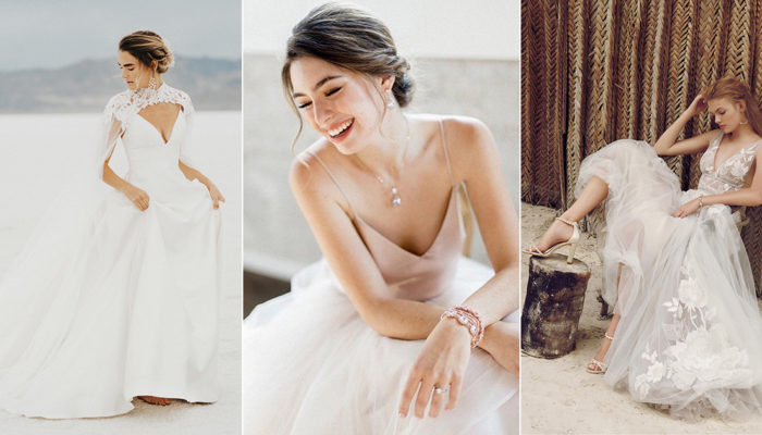 32 Less Formal Minimalist Wedding Dresses For Intimate Weddings!
