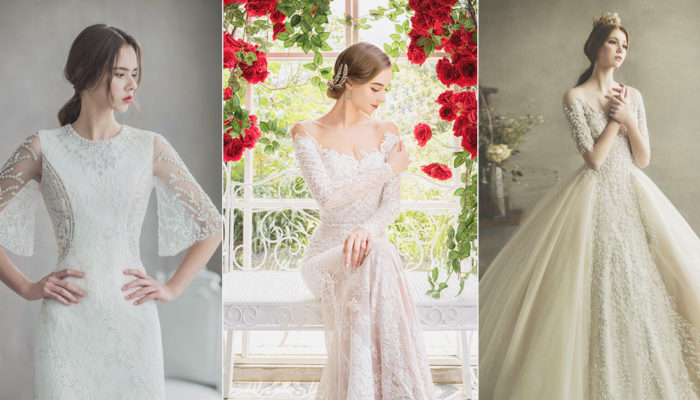 34 Beautiful Wedding Dresses with Sleeves For Winter Brides!