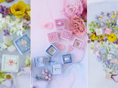 A Proposal & Wedding Must Have: Colorful Heirloom Worthy Ring Boxes From The Mrs. Box!