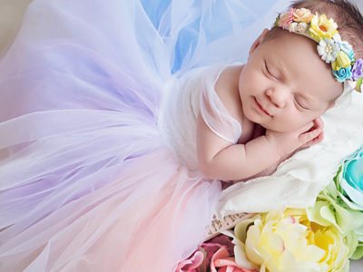 Cherish Rainbow Baby Gown