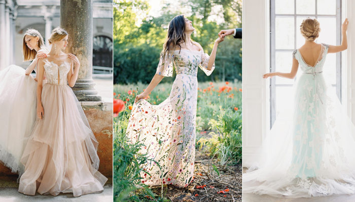 25 Affordable Embroidered Wedding Dresses You Can Buy Online!