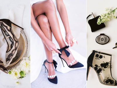 Fashion-Forward Black Wedding Shoes! 7 Stunning Black Evening Shoes For Your Special Occasion!