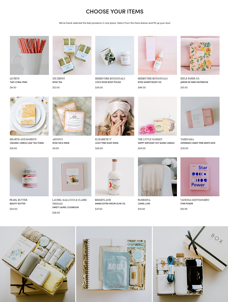 BOXFOX Curated Personalized Gift Ideas
