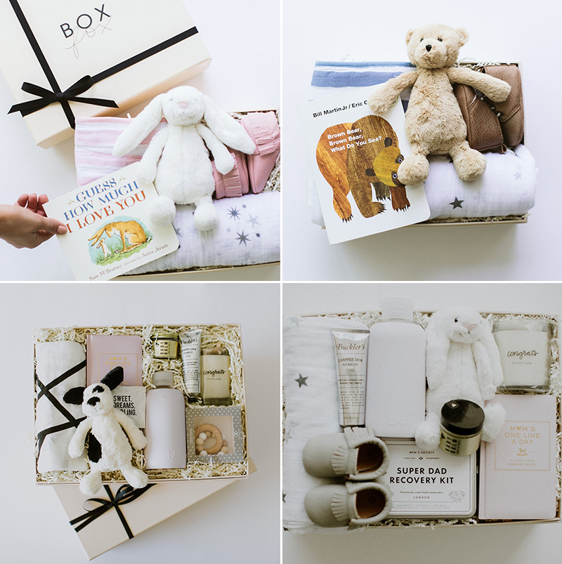 BOXFOX Curated Personalized Gift Ideas for Baby Showers and New Moms