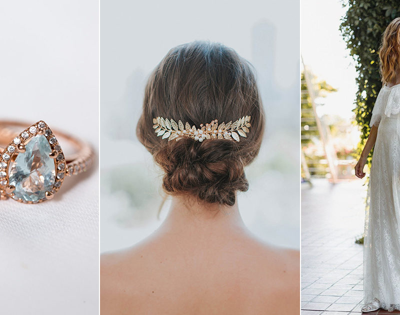 Davie & Chiyo – A Whimsical Feminine Line For Effortlessly Beautiful Brides!