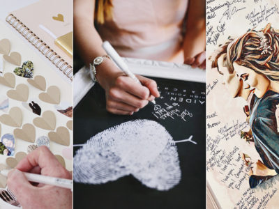 10 Places to Find Creative & Fun Wedding Guest Book Alternatives!