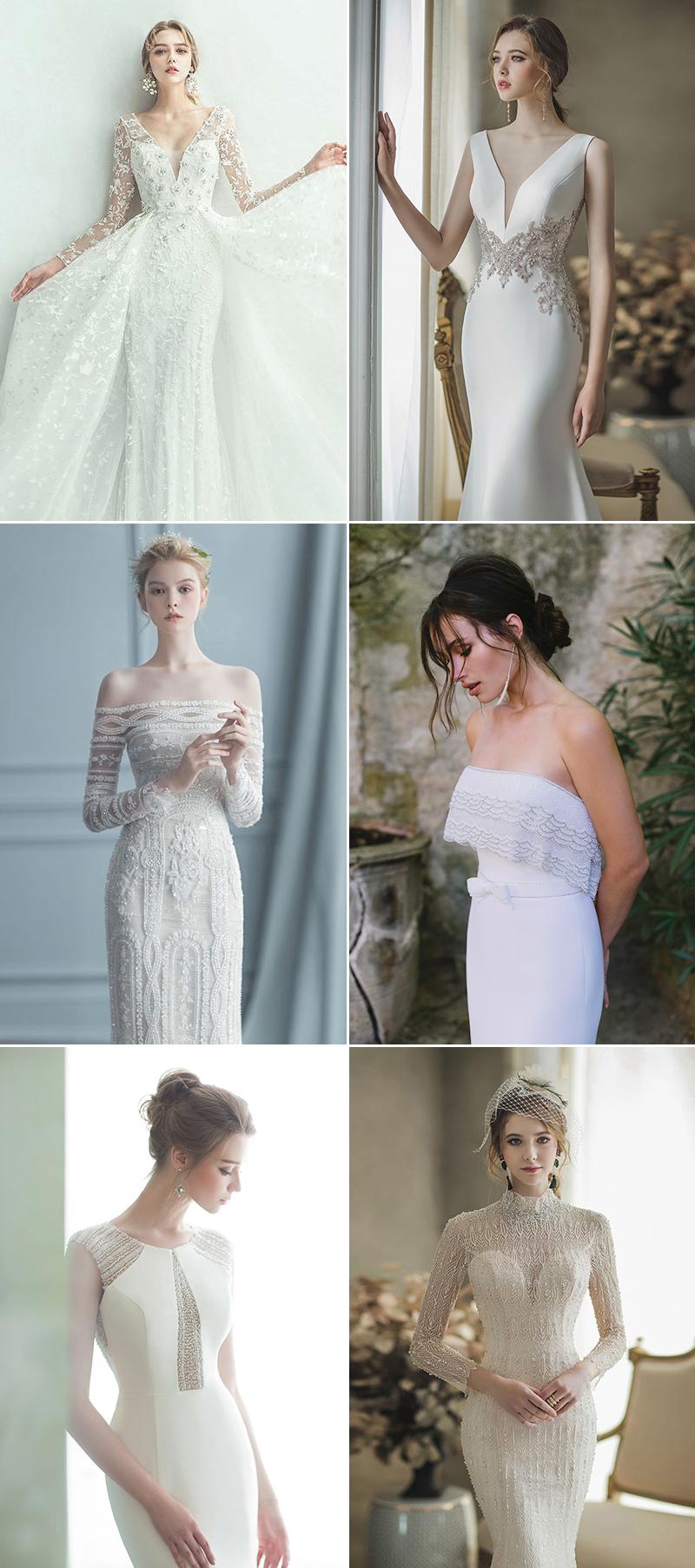 Beautifully Embellished Wedding Dresses