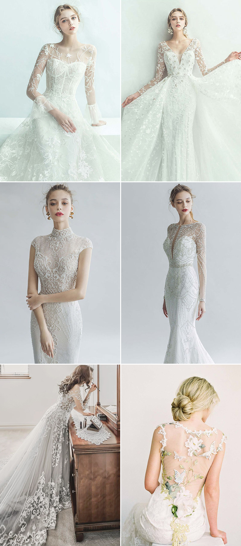 The New Meaning Of Sexy 30 Effortlessly Beautiful Wedding Dresses