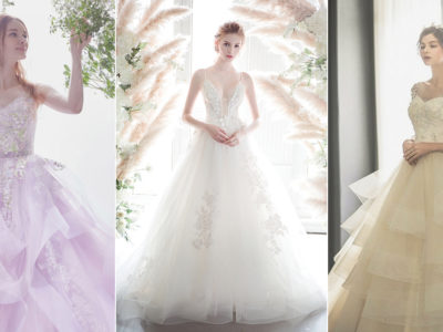 22 Airy Lightweight Wedding Dresses For Ethereal Brides!