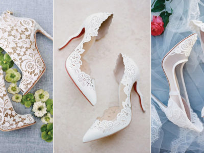 35 Not-So-Traditional White Wedding Shoes For Stylish Brides!