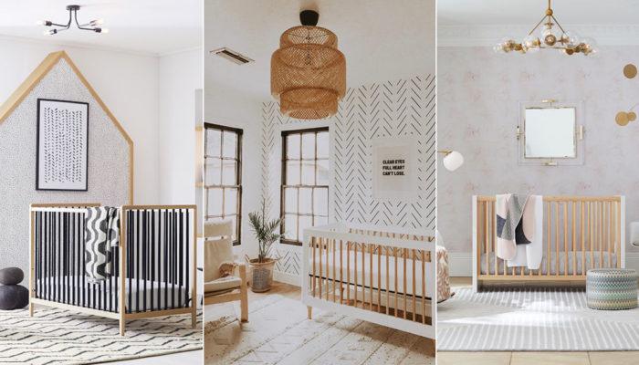 Earthy Nursery Trend! 5 Modern Neutral Nursery Room Ideas We Love!