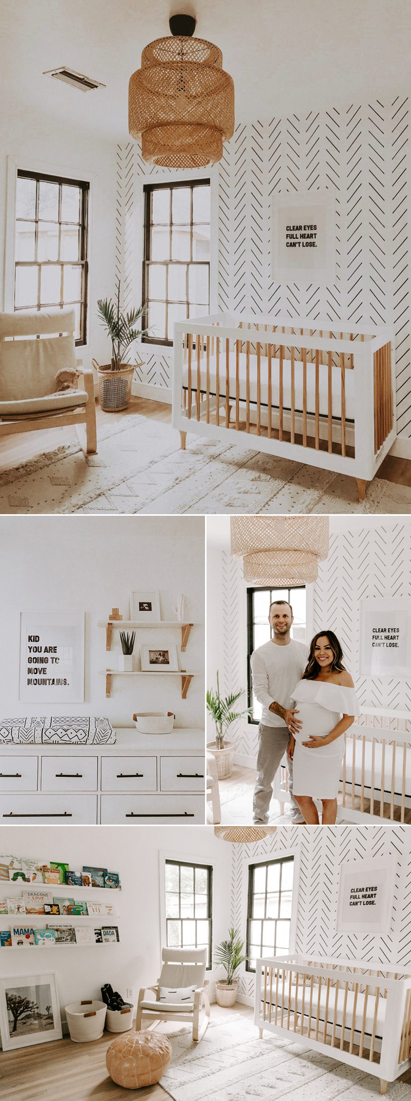 Modern Earthy Neutral Nursery Room Ideas
