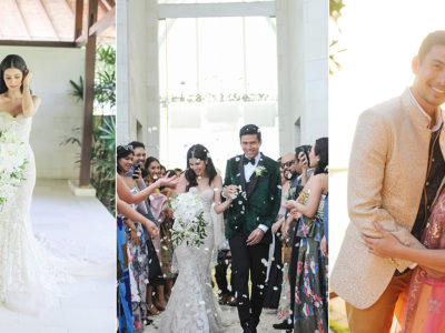 Filipino Singer Christian Bautista and Kat Ramnani's Baliwood Wedding