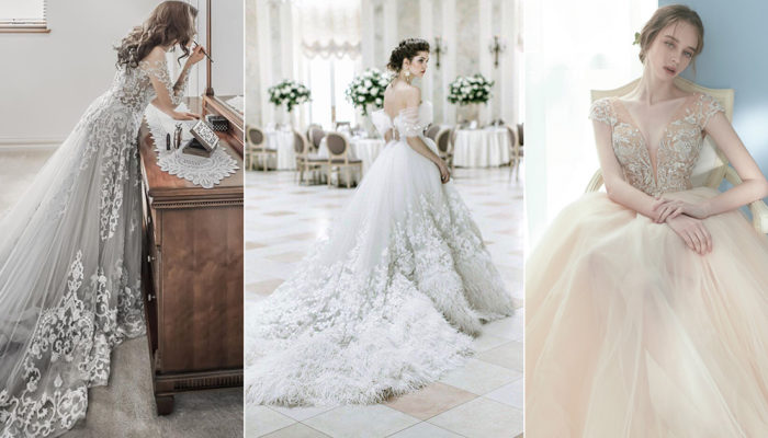 The New Off-White! 16 Wedding Dresses For Modern Brides Who Want Subtle Color!