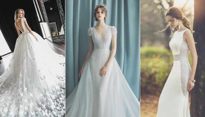 18 Wedding Dresses That Make A Romantic Statement With A Royal Touch!