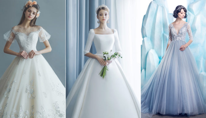 30 Wedding Dresses Featuring a Contemporary Take on Princess Ball Gowns!