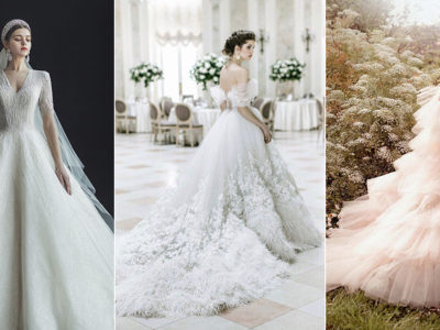 The New Off-White! 19 Wedding Dresses For Modern Brides Who Want Subtle Color!