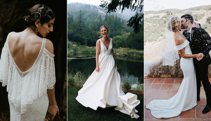 24 Affordable Chic Minimalist Wedding Dresses for Modern Brides!