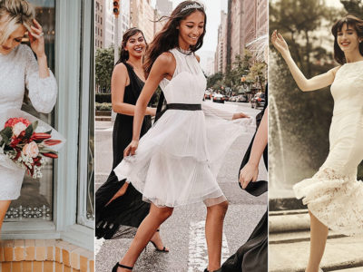 18 Little White Dresses for Every Wedding Event