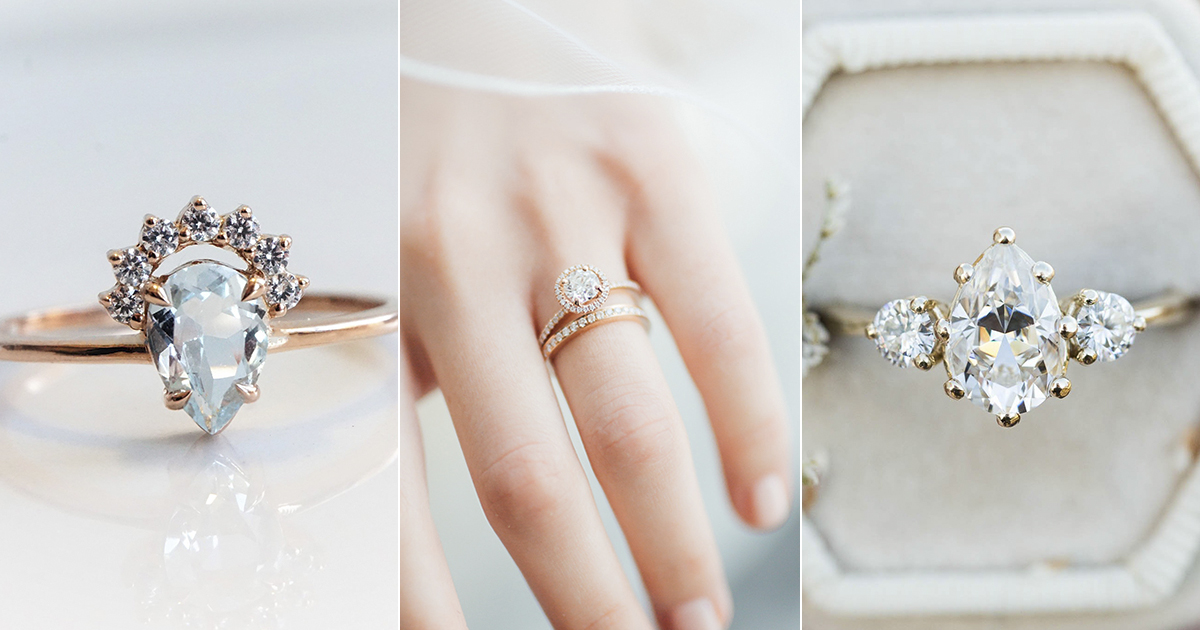 Wedding Ring Styles.A New Take On The Classics 7 Timeless Engagement Ring