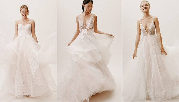 16 Airy Light-Weight Wedding Dresses You Can Actually Move and Dance In!