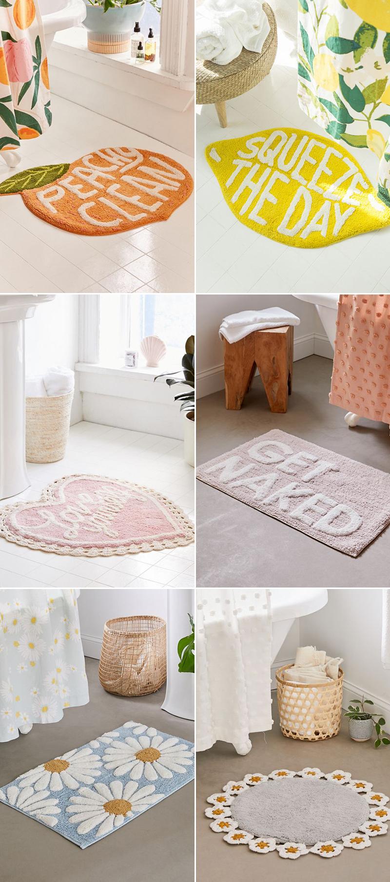 bathroom mat rug