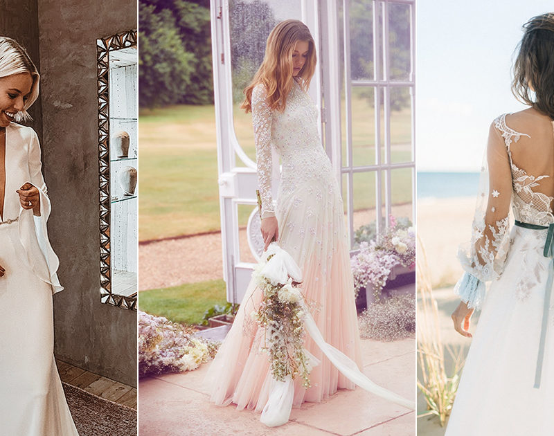 24 Modern Sophisticated Wedding Dresses with Sleeves