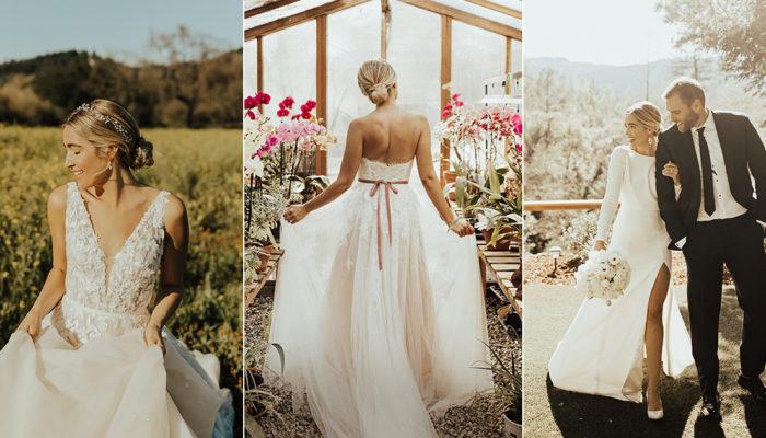 22 Stunning Wedding Dresses Perfect for an Elopement!