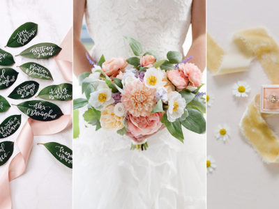 33 Beautiful Wedding Details We Are Loving This Spring!