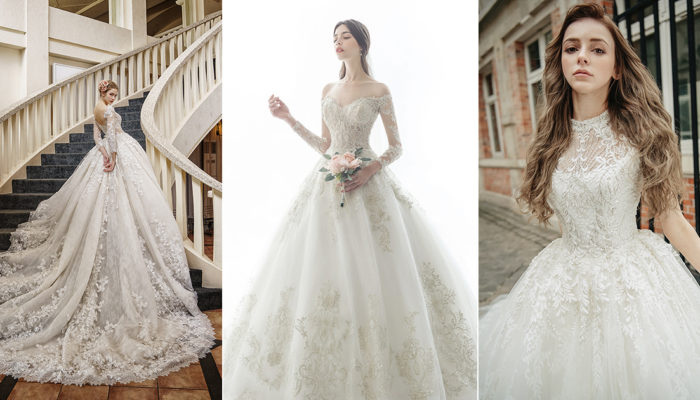 18 Wedding Dresses that Matches the Classic Wedding Venue Style