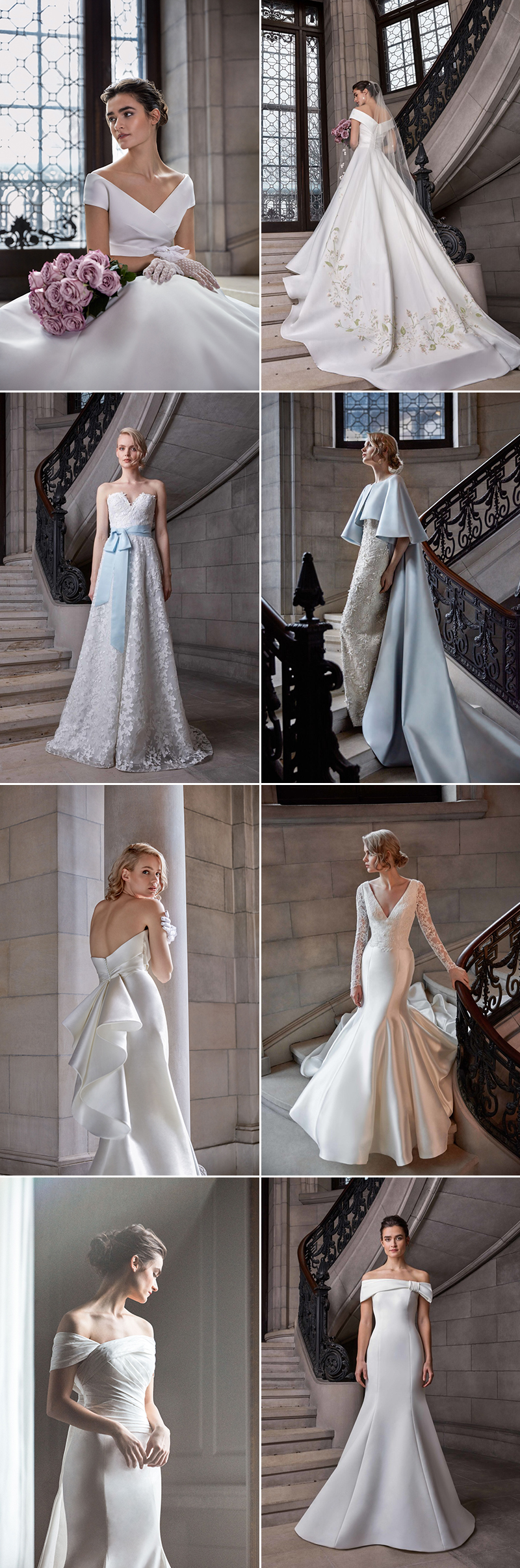 Wedding Dress Spring 2020 New York Fashion Show