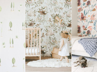 Whimsy Woodland-Themed Nursery Trend! 24 Modern Baby's Room Wallpapers with Major Enchanted Forest Vibes!
